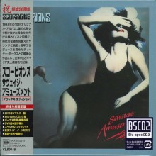 Scorpions - Savage Amusement (50th Anniversary Deluxe Edition) (CD+DVD) (Japan Blu-Spec CD2) 2015