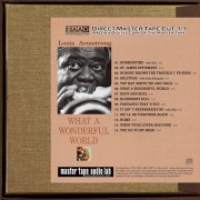 Louis Armstrong - What A Wonderful World (24K Gold AAD CD)