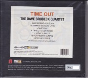 The Dave Brubeck Quartet - Time Out (Master Quality Gold CD MQGCD) 2018