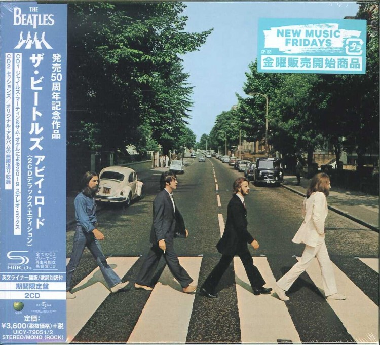 The Beatles - Abbey Road 50th Anniversary (2 SHM-CD) 2019