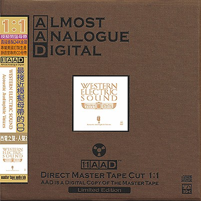 Various Artists - Western Electric Sound: Voice II (24K Gold AAD CD)