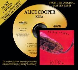 Alice Cooper - Killer (24 KT Gold CD)