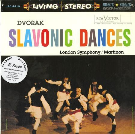 Dvorak - Slavonic Dances (Classic Records) (180g 4LP 45 rpm) Factory Sealed