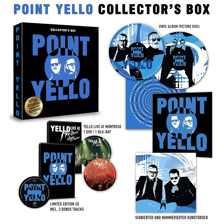 Yello - Point (CD, DVD, Blu-ray, LP) (Limited Collector's Box) 2020