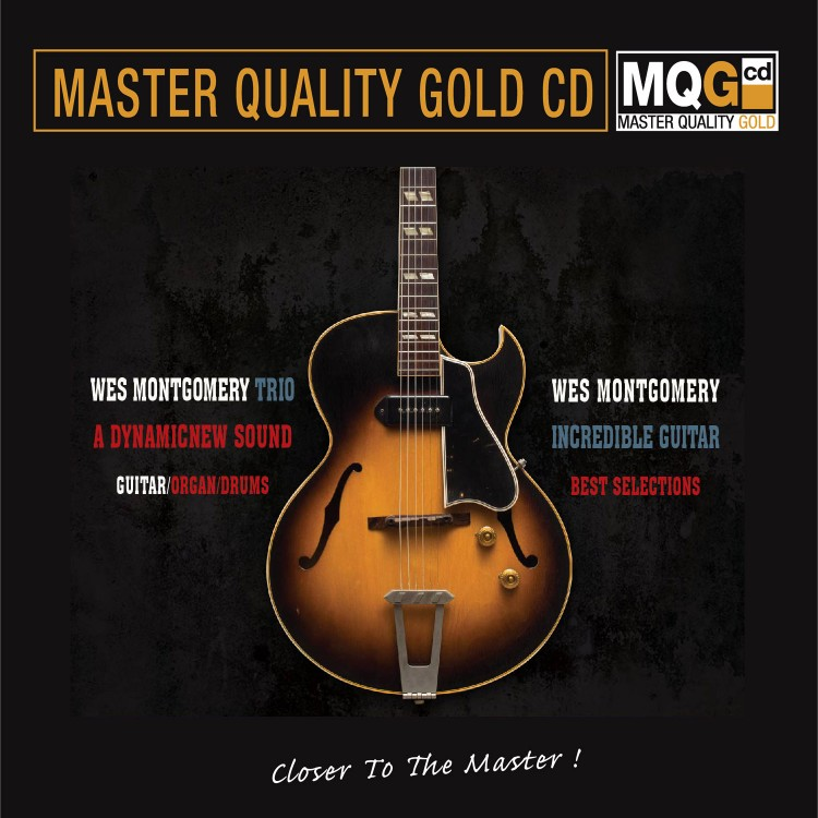 Wes Montgomery Trio - A Dynamic New Sound (MQG Master Quality Gold CD) 2019