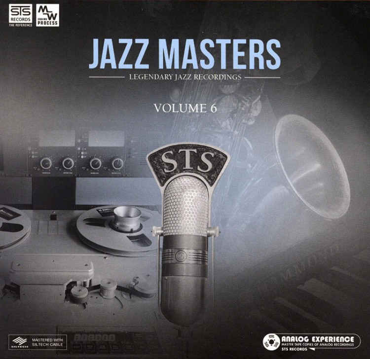 STS Digital - Jazz Masters vol.6: Legendary Jazz Recordings (Audiophile CD)