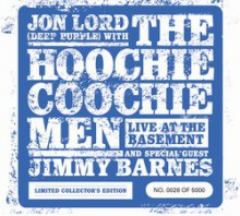 Jon Lord with THE HOOCHIE COOCHIE MEN - Live At The Basement [CD+DVD]