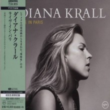 Diana Krall - Live In Paris (Japan Platinum SHM-CD) 2015