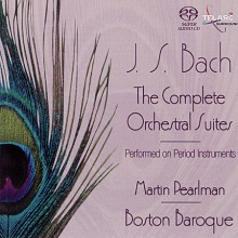 BACH: The Complete Orchestral Suites - Martin Pearlman [SACD]