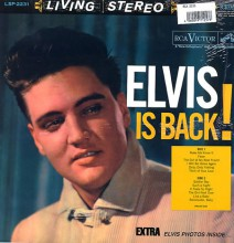 Elvis Presley - Elvis Is Back! (180g Vinyl LP)