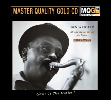 Ben Webster - At The Renaissance (Master Quality Gold CD MQGCD) 2018