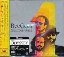 BEE GEES - Number Ones [Japan CD]