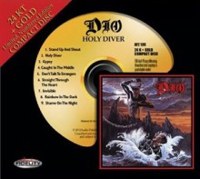 Dio - Holy Diver (24 KT Gold CD)
