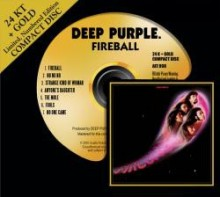 Deep Purple - Fireball (24 KТ Gold CD)