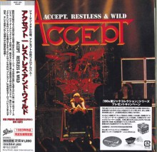 ACCEPT - Restless And Wild [Japan Mini-LP CD]