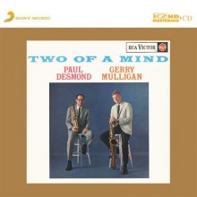 Paul Desmond & Gerry Mulligan - Two Of A Mind (Japan K2HD CD)