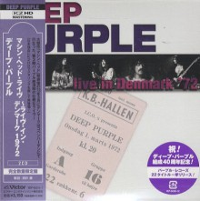 DEEP PURPLE - Machine Head Live (Live In Denmark 1972) (2CD) [Japan Mini LP K2HD CD]