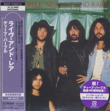 DEEP PURPLE - New Live & Rare Volume 1 [Japan Mini LP K2HD CD]