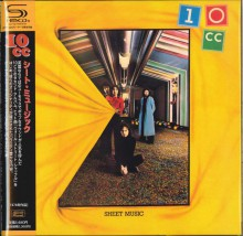 10CC - Sheet Music [Mini LP SHM-CD] 2010