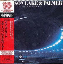 EMERSON LAKE & PALMER - In Concert (Victor's 80th anniversary) [Mini-LP K2HD CD]