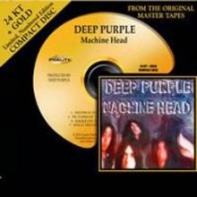 Deep Purple - Machine Head (24 KТ Gold CD)