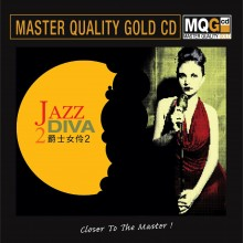 Various Artists - Jazz Diva 2 (Master Quality Gold CD MQGCD) 2019