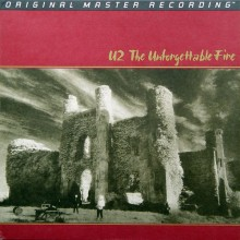U2 - The Unforgettable Fire (MFSL ANADISQ 200) (200g LP) Factory Sealed