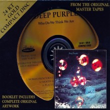 Deep Purple - Who Do We Think We Are (24 KT Gold CD)