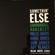 Cannonball Adderley - Somethin' Else (180g 45rpm Vinyl 2LP)