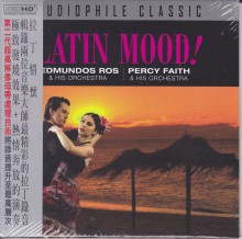 Edmundos Ros / Percy Faith - Latin Mood (Extended HD Mastering CD) 2015