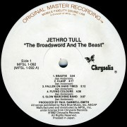 Jethro Tull - Broadsword And The Beast (Vinyl LP) (MFSL) 1982 used